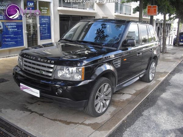 voiture land rover range rover sport hse 3 6 tdv8 occasion diesel 2008 149874 km 19990. Black Bedroom Furniture Sets. Home Design Ideas