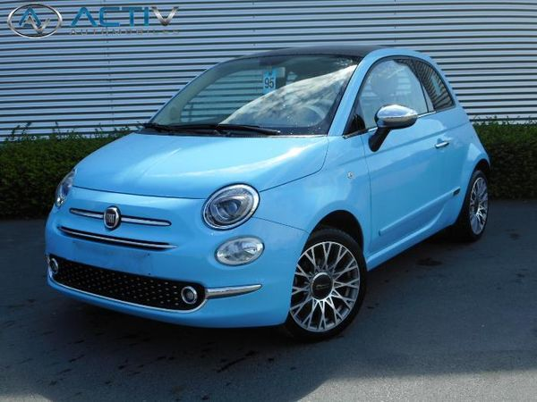 voiture fiat 500 serie4 1 2 i 69 lounge my16 occasion essence 2016 9949 km 11080. Black Bedroom Furniture Sets. Home Design Ideas
