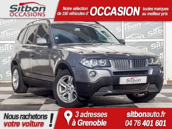 voiture bmw x3 occasion diesel 2009 69221 km 16980 grenoble is re 992736714947. Black Bedroom Furniture Sets. Home Design Ideas