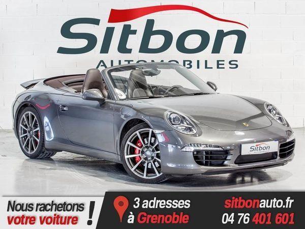 voiture porsche 911 occasion essence 2012 33726 km. Black Bedroom Furniture Sets. Home Design Ideas