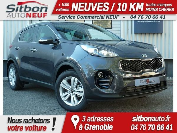 voiture kia sportage occasion diesel 2017 10 km 26095 grenoble is re 992736998825. Black Bedroom Furniture Sets. Home Design Ideas