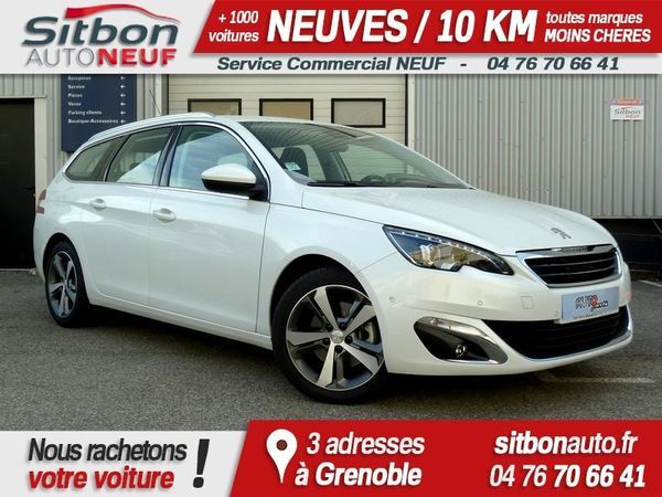 voiture peugeot 308 sw 2 0 bluehdi 150 allure faible km occasion diesel 2016 18025 km. Black Bedroom Furniture Sets. Home Design Ideas