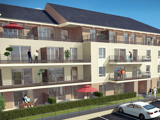 Appartements neufs  Loi   Le Mans (72000)