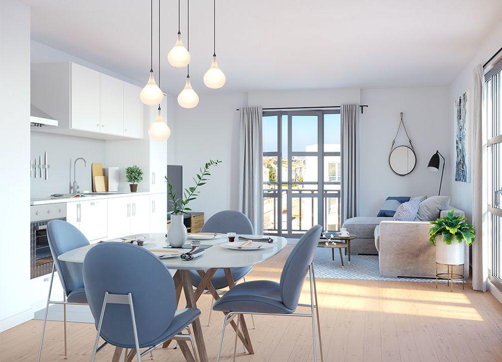Programme neuf all e de meudon clamart 92140 37573 for Appartement et maison meudon
