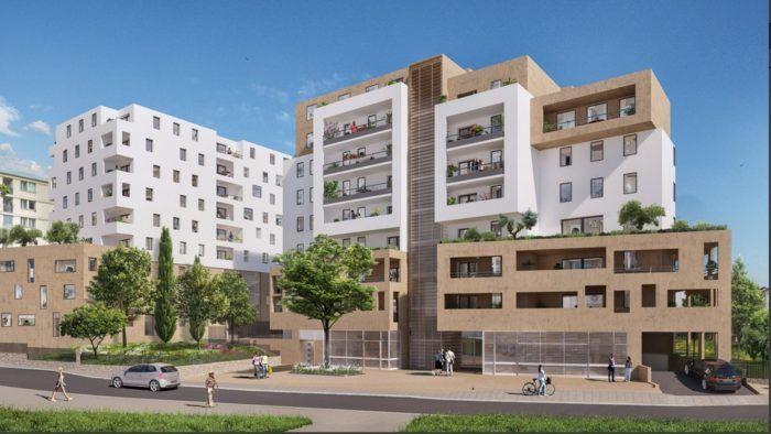 Vente -  T4 de 76.43 m² avec Terrasse de 10.07 m² et Parking en sous-sol - Marseille - 13012   Marseille (13)