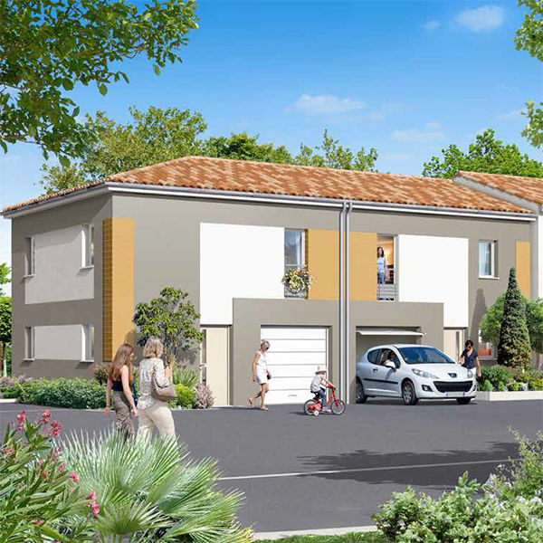 Programme neuf maisons neuves loi m rignac 33700 for Programme maisons neuves