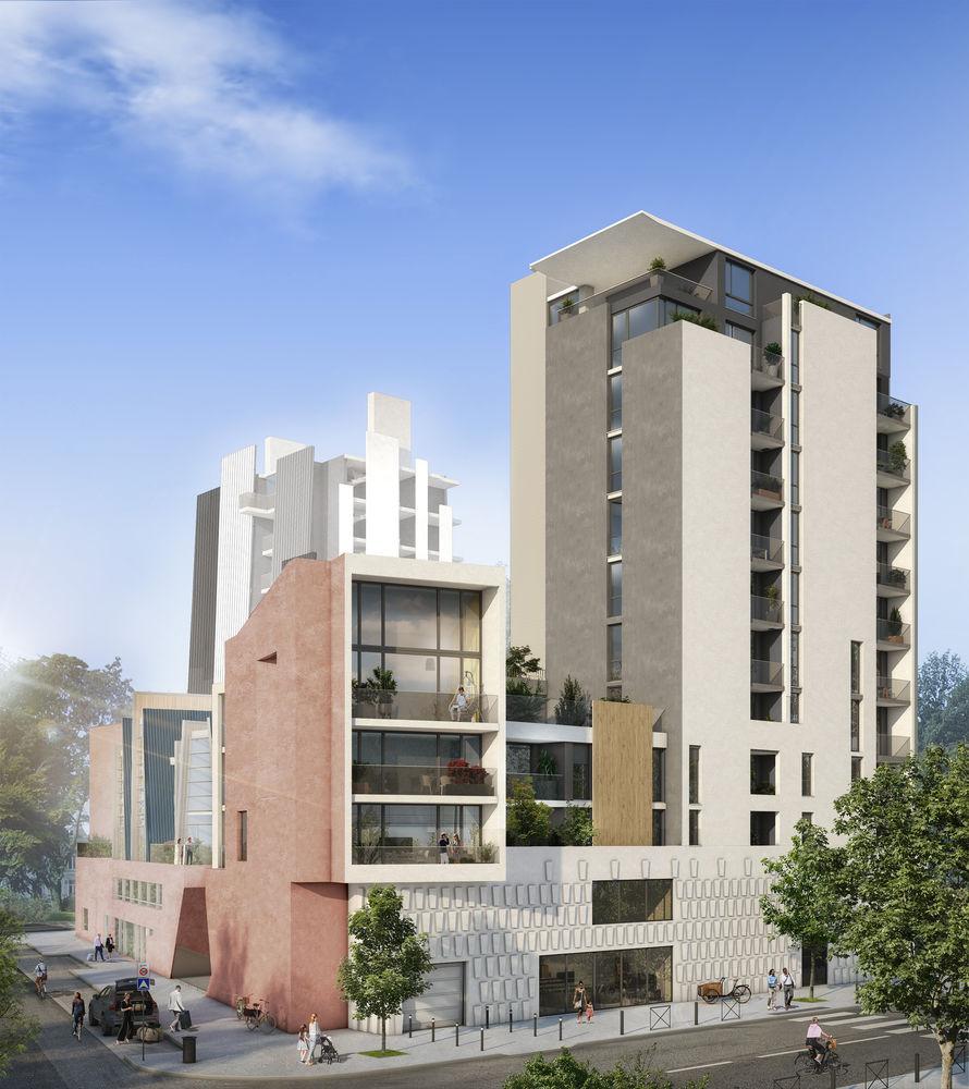 Appartements neufs et Maisons neuves   Grenoble (38000)