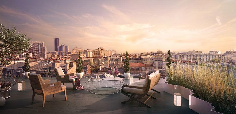 achat t2 paris 75 appartement f2 2 pi ces acheter. Black Bedroom Furniture Sets. Home Design Ideas