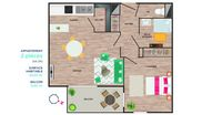 Appartements neufs   Bouguenais (44340)