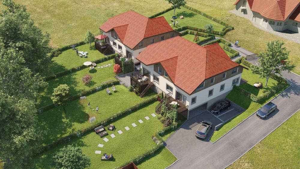 Appartements neufs et Maisons neuves  Loi  Les Grangettes (25160)