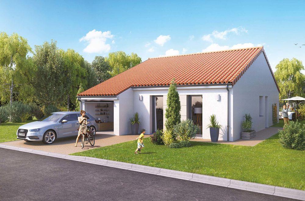 maison t5 neuf programme nc le pellerin 44640 41222. Black Bedroom Furniture Sets. Home Design Ideas