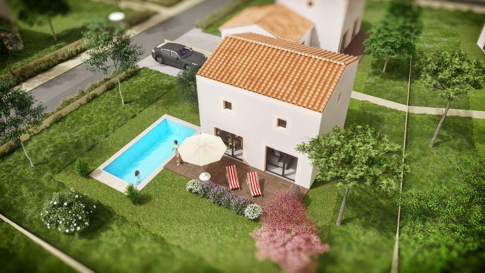 Vente -   Terrain - 430 m²    Le Castellet (83)