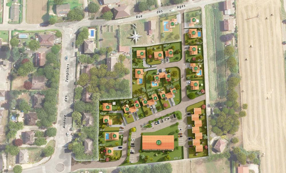 Vente -   Terrain - 357 m²    Pontcharra (38)