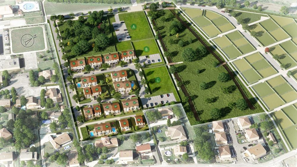 Vente -   Terrain - 253 m²    Tullins (38)