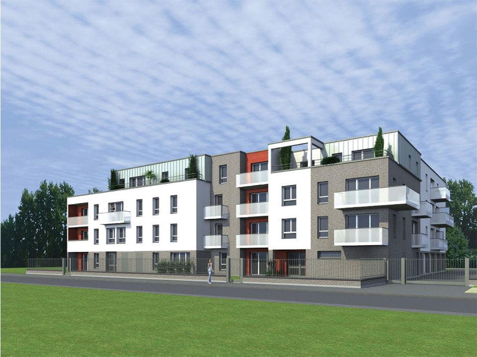 Annonce vente appartement neuf faches thumesnil 59155 for Appartement neuf vente