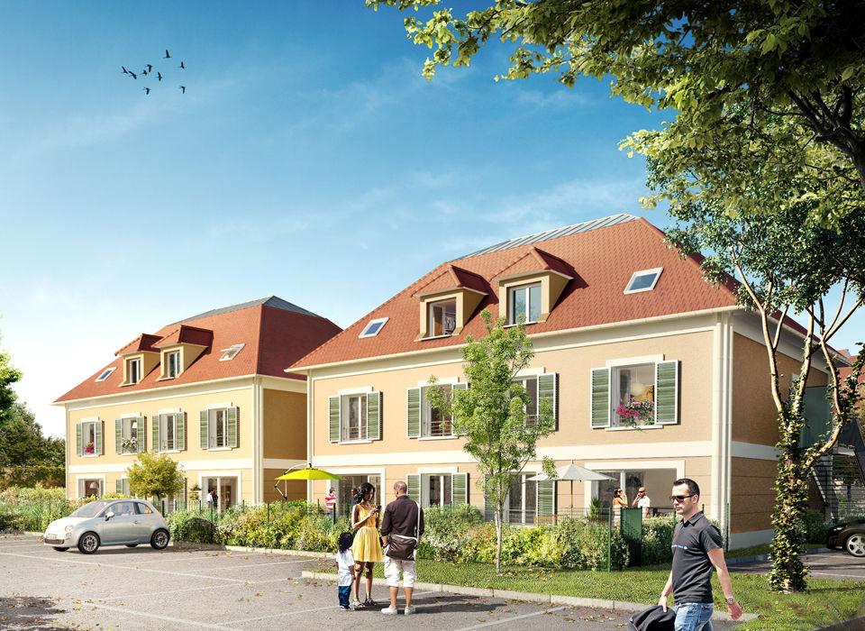 Programme neuf maisons neuves loi corbeil essonnes 91100 for Programme maisons neuves