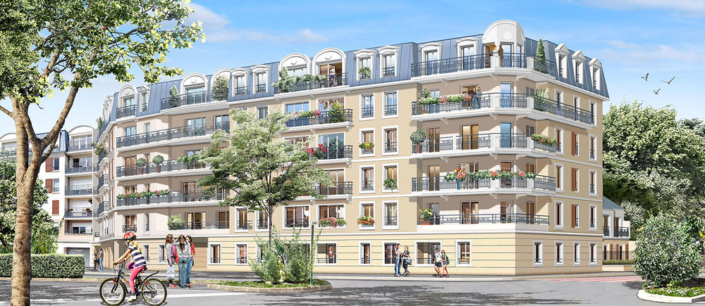 appartement t3 neuf programme esprit ville ii franconville 95130 39334. Black Bedroom Furniture Sets. Home Design Ideas