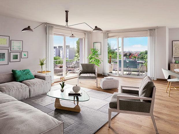 Appartements neufs  Loi  Saint-Max (54130)