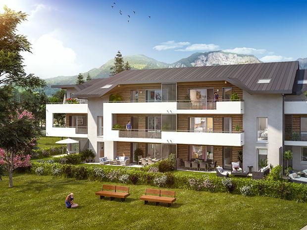 Vente -   Appartement - 3 pièce(s) - 61 m² Appartement 3 pièces   Saint-pierre-en-faucigny (74)