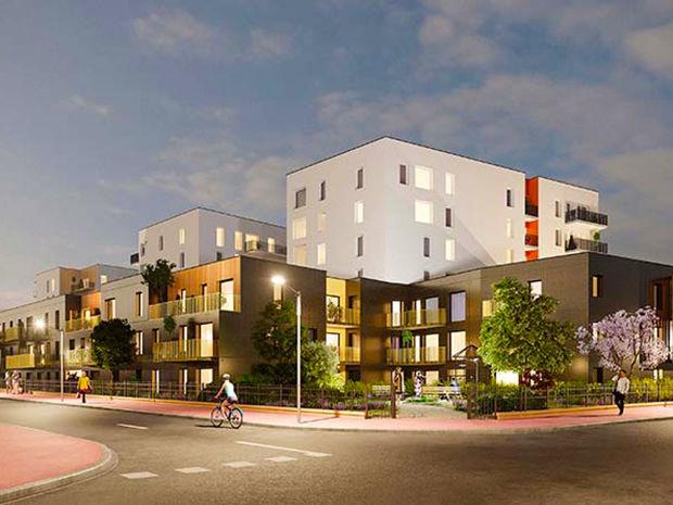 Vente -   Appartement - 3 pièce(s) - 56 m² Appartement 3 pièces   Sotteville Les Rouen (76)