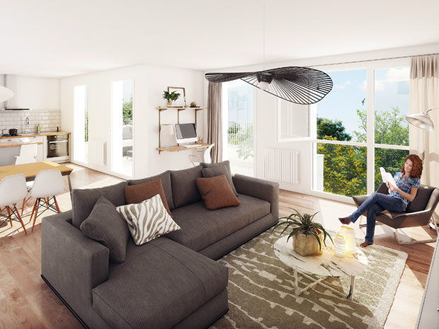 Vente -   Appartement - 2 pièce(s) - 39 m² Appartement 2 pièces   Armentieres (59)
