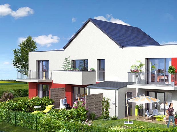 Vente -   Maison - 4 pièce(s) - 83 m² Maison 4 pièces   Caen (14)