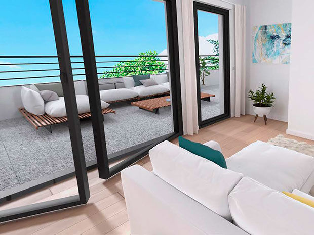 Vente -   Appartement - 1 pièce(s) - 26 m² Appartement 1 pièce   Saint-maur-des-fossés (94)