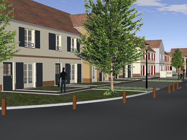 Maisons neuves  Loi  Précy-sur-Oise (60460)