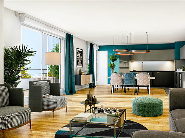 Vente -   Appartement - 5 pièce(s) - 121 m² Appartement 5 pièces   Saint-maur-des-fossés (94)