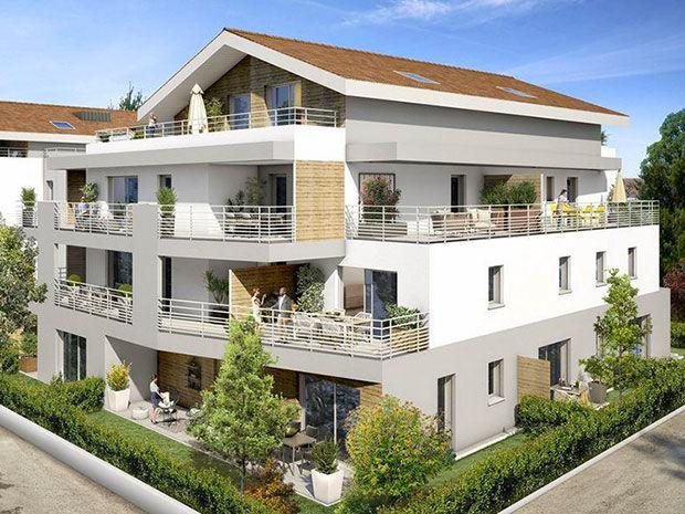 Appartements neufs   Prévessin-Moëns (01280)