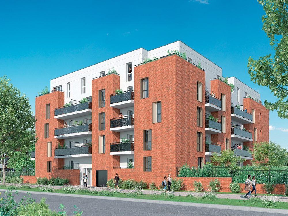 Vente -   Appartement - 2 pièce(s) - 41 m² Appartement 2 pièces   Armentières (59)