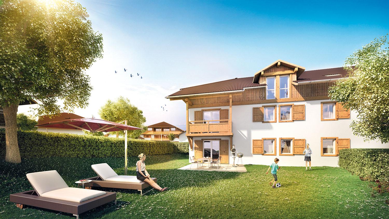 Programme neuf appartements neufs loi pinel cornier 74800 for Appartement neuf bordeaux loi pinel