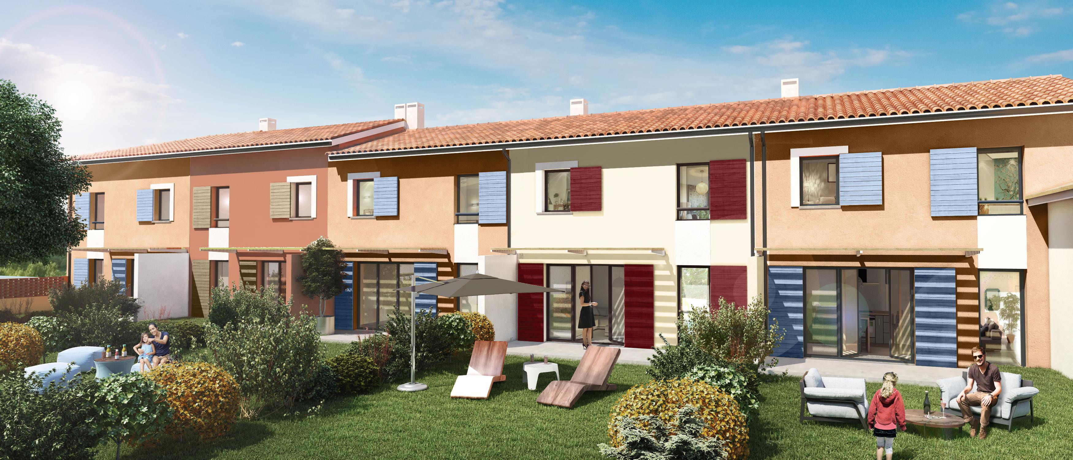 Programme neuf maisons neuves loi pechbonnieu 31140 for Programme maisons neuves
