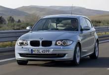 BMW Série 1 Véhicule de société 2009