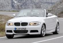 BMW Série 1 Cabriolet 2012