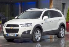 Chevrolet Captiva 4x4 - SUV 2011