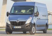 Opel Movano Fourgon 2012