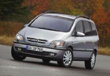 Opel Zafira Monospace 2002