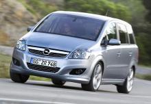 Opel Zafira Monospace 2011