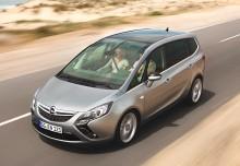 Opel Zafira Monospace 2013