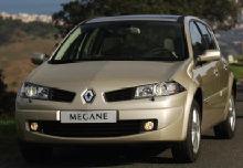 Fiche technique Mégane II