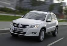 Volkswagen Tiguan Véhicule de société 2010