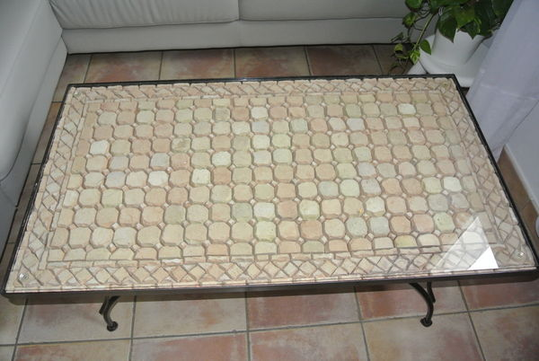 Table Basse Marocaine Fer Forgée