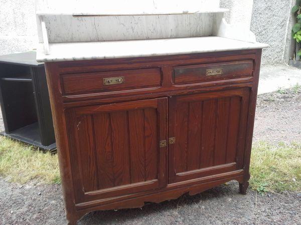 meuble de salle de bain ancien