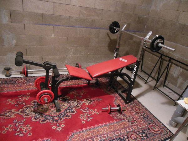 Achetez Banc De Musculation Quasi Neuf Annonce Vente à Thionville
