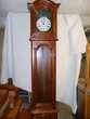 horloge merisier massif 3 poid laiton (77) - 1 200 €