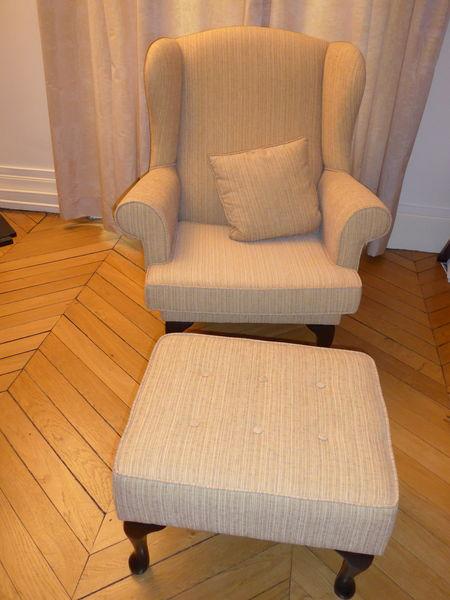 achetez fauteuil liseuse quasi neuf, annonce vente à paris (75
