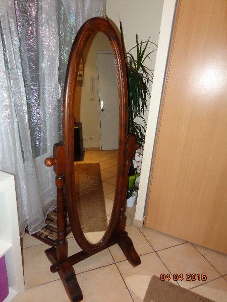 Achetez miroir ovale occasion, annonce vente à Montreuil (93 ...