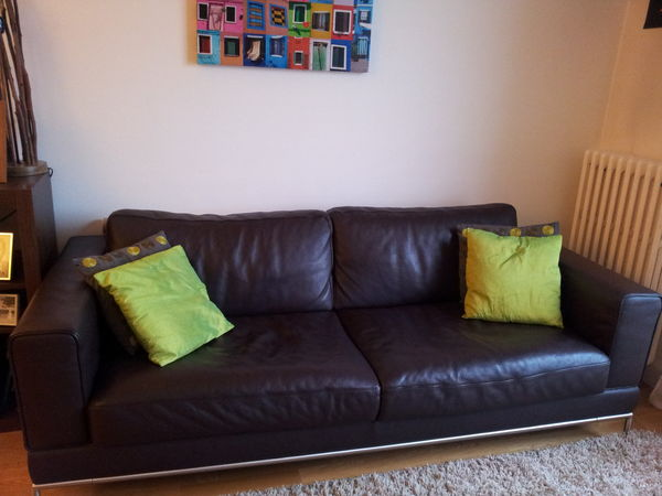 Achetez Canape Cuir Ikea Occasion Annonce Vente à Châtenay Malabry