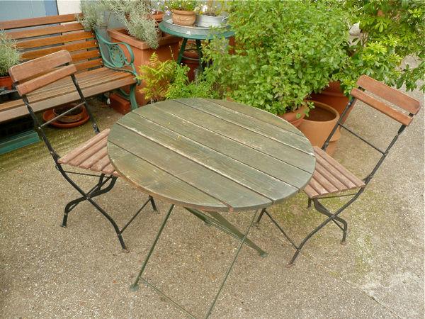 Achetez table & chaises occasion, annonce vente à Ris-Orangis (91 ...